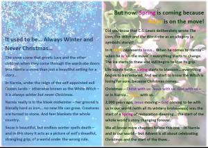 Narnia explanation text